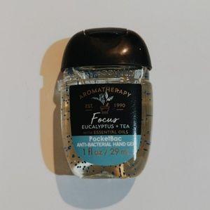 Aromatherapy eucalyptus+tea sanitizer